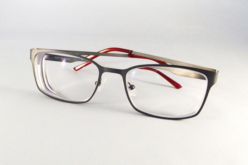 77e12c76160 1.74 Ultra Thin anti-glare single vision lenses to an Animal frame.