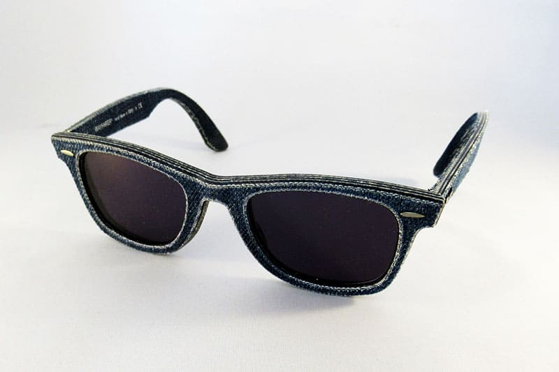 a9b7bb1102 Single vision 1.5 tints in a RayBan Wayfarer Denim frame.