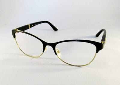 Freeform 1.5 anti-reflection lenses into a Versace frame.