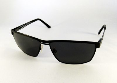 Polarised single vision with back surface anti glare to a Jaguar frame.
