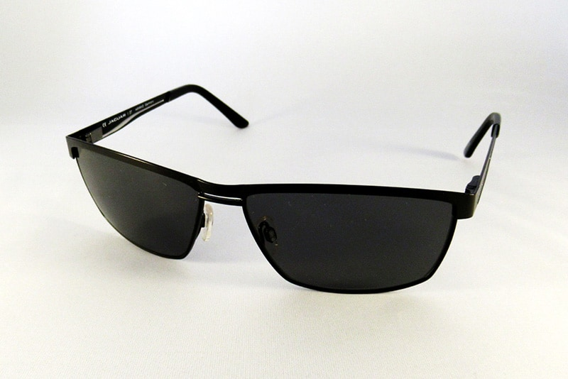 edfe29ae9f Polarised single vision with back surface anti glare to a Jaguar frame.