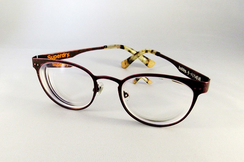 Ultra thin 1.74 anti glare & anti scratch lenses to a SuperDry ...