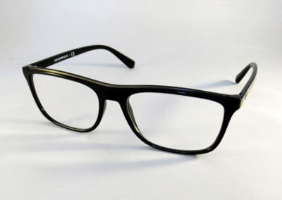 Freeform 1.5 varifocals in an Emporio Armani frame.
