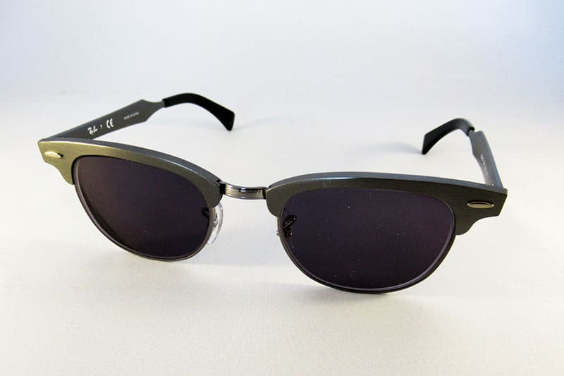 6ad9755d21 Single vision 1.5 tinted grey lenses into a Ray-Ban frame.