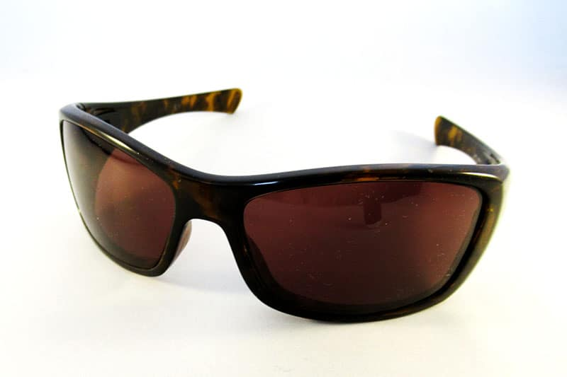 4198b3d3c6 Single vision 1.5 specially worked tinted lenses into an Oakley Hijinx wrap.