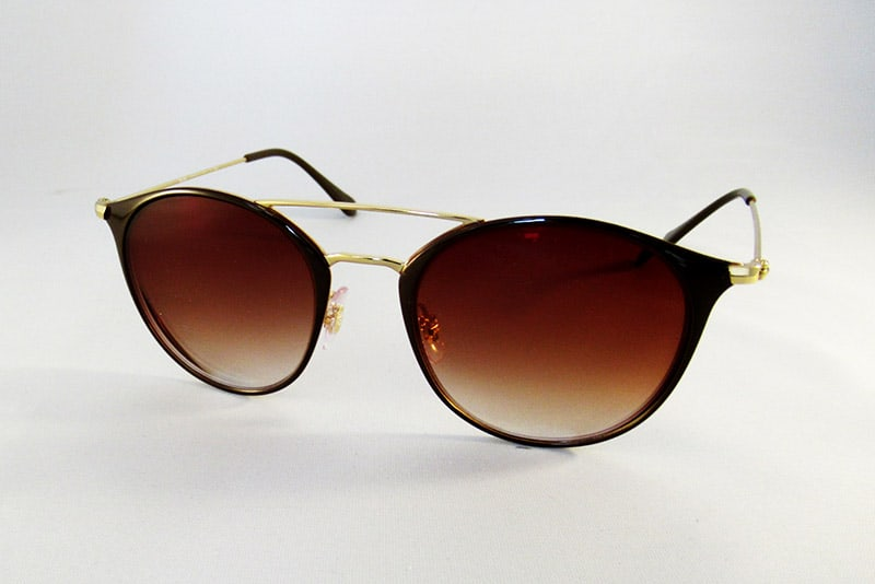 af9019e7f9 Single vision 1.5 graduated brown tints in a Ray-Ban frame.